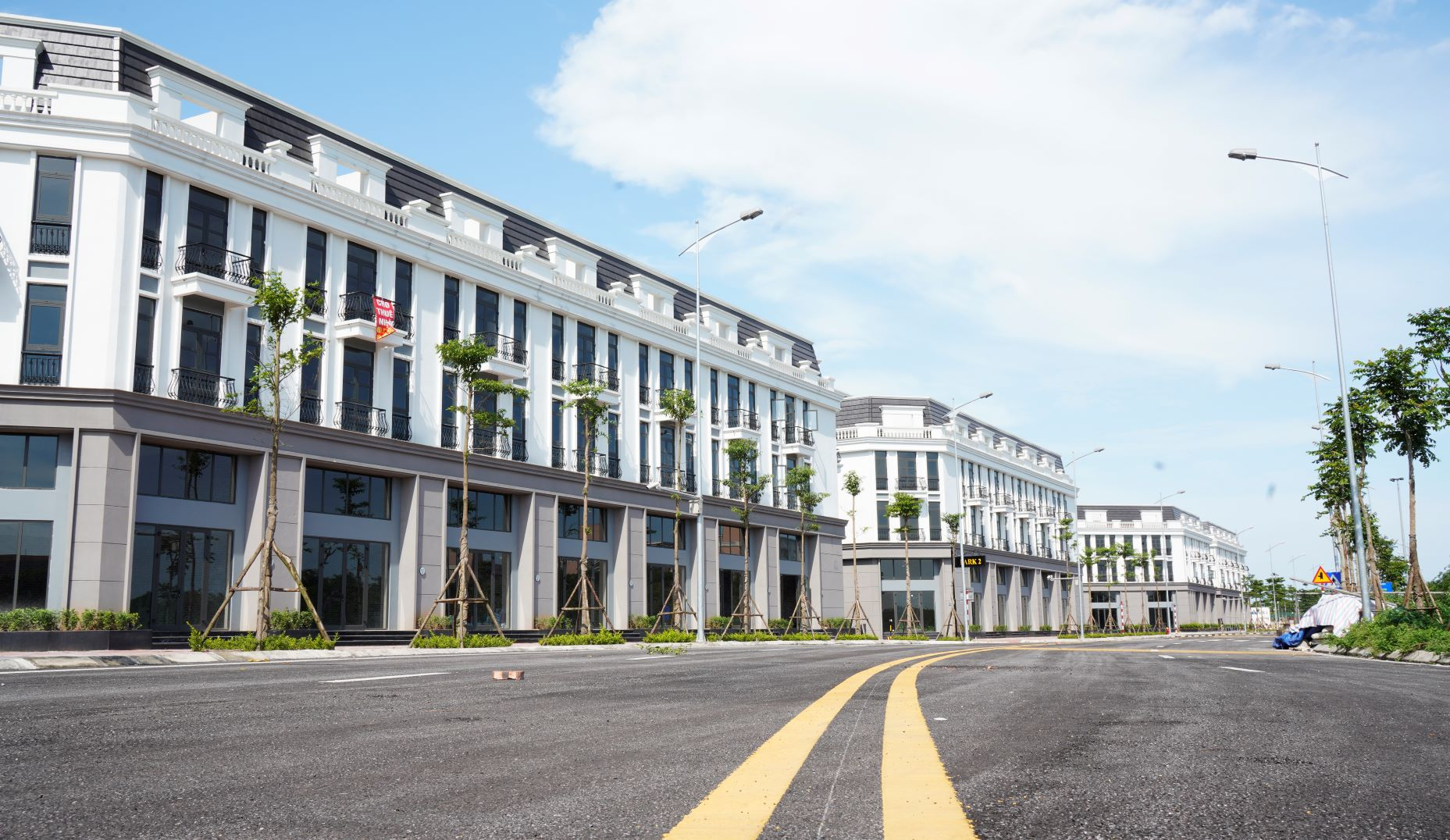 Thiết kế mặt bằng shophouse Eastern Park