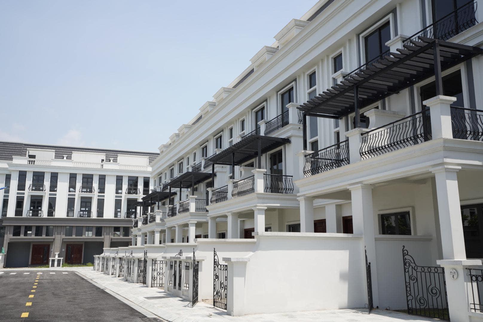 Khu Shophouse sang trọng của Ha Noi Garden City