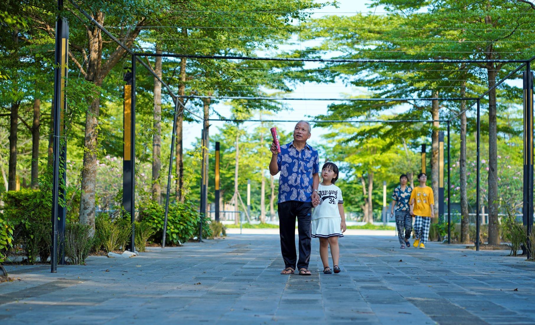 Hệ thống công viên cây xanh Ha Noi Garden City