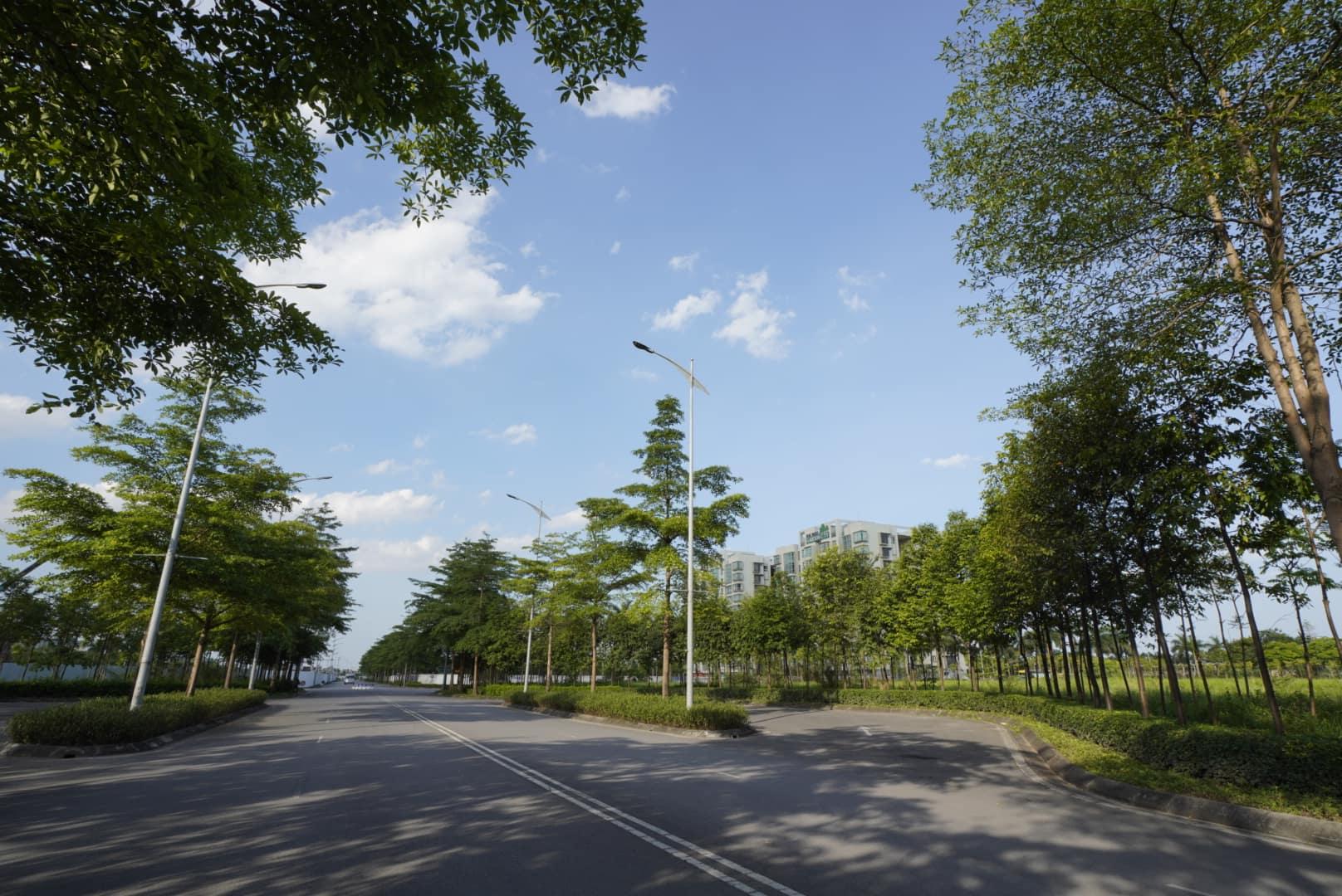 Không gian xanh của Ha Noi Garden City