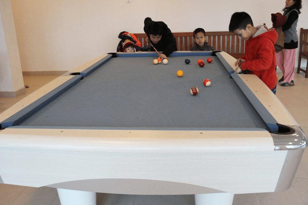 Tiện ích Billiards ở Ha Noi Garden City