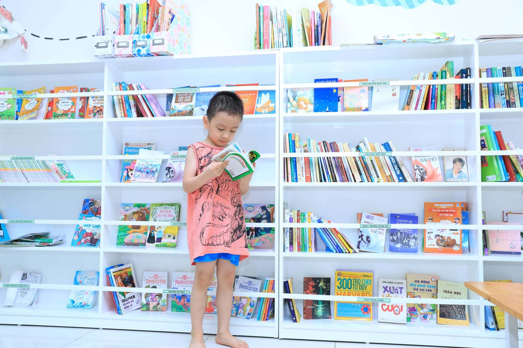 Hệ thống thư viện cao câp của Arden Park