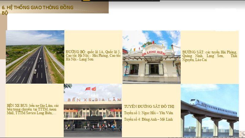 Tiện ích giao thông đồng bộ của Ha Noi Garden City