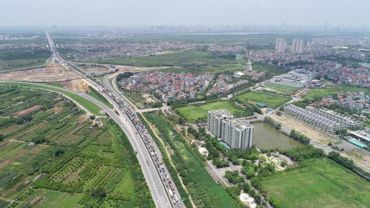 Tiện ích kết nối giao thông của Ha Noi Garden City