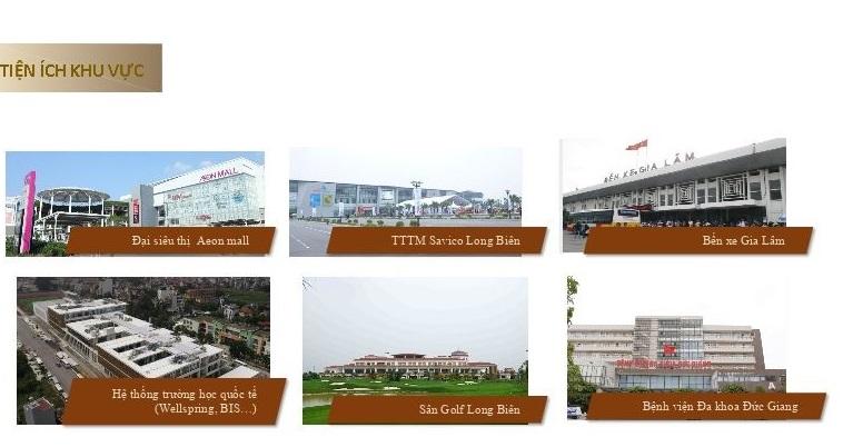 Tiện ích ngoại khu Ha Noi Garden City