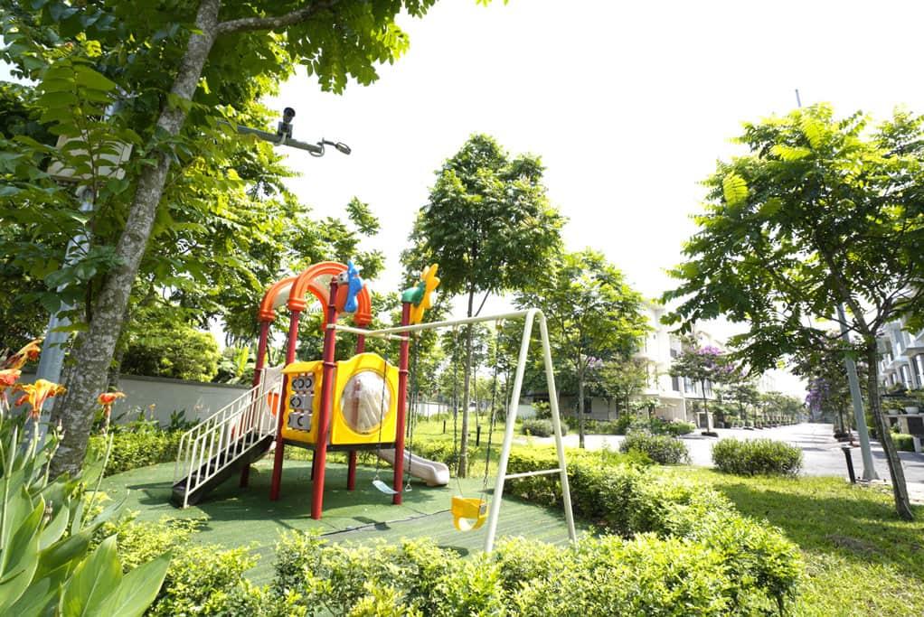 Khu vui chơi tại Ha Noi Garden City